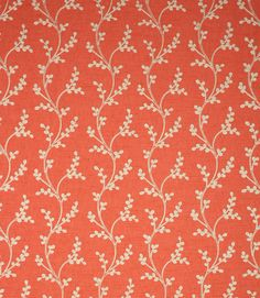 Save on our Geranium Sevati Contemporary Fabric from Voyage Maison. This Clearance fabric is perfect for Curtains & Blinds. Curtain Material, Curtain Fabric, Curtains, Pottery Vase, Geraniums, Hygge, Fabric Design, Vases, Upholstery