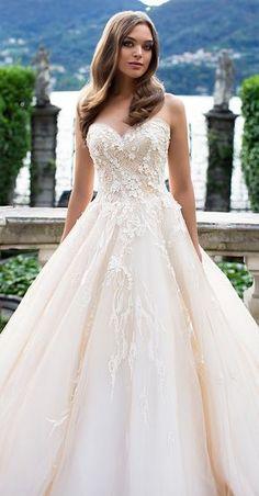 Milla Nova Bridal 2017 Wedding Dressesgein savana2 / http://www.deerpearlflowers.com/milla-nova-2017-wedding-dresses/22/