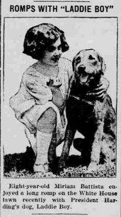 Romps with Laddie Boy The Holbrook news., August 25, 1922