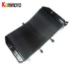 KEMiMOTO CBR600RR Motorcycle Radiator Cooler For Honda CBR600RR 2003 2004 2005 2006 Aluminum Radiator Cooler Cooling Kit #Affiliate