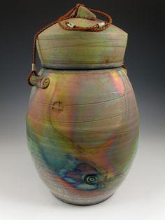 Ceramic Raku Cremation Urns | ... Handmade funerary urns, cremation urns, urns for ashes | Companion Urn