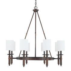"Capital Lighting C4048BB489 ""Covington"" Mid Sized Chandelier Shop.Ferguson.com! $730"