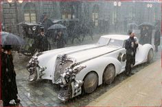 Captain Nemo's car was so cool.