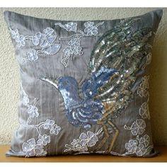 Silver Birdy - 35x35 cm Square Decorative Throw Grey Silk... https://www.amazon.co.uk/dp/B00K4KVZZ0/ref=cm_sw_r_pi_dp_x_mu0IybWZKESSN