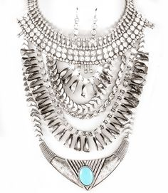 PWB0428 - Tribal necklace - $32.99 : Shop Trendy Jewelry and Accessories, Peeny Wallie Boutique