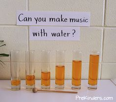 Make Music with Water