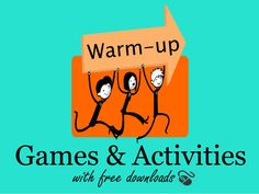Bring energy to your class or fill the time when the lesson runs shorter than expected with these ESL warm up activities with free powerpoint download.