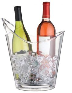 Kitchen Craft Bar Clear Acrylic Drinks Pail Wine Cooler Champagne Ice Bucket for sale online Vodka, Champagne Ice Bucket, Wine Bucket, Bucket Cooler, Food Storage Boxes, Wine Reviews, Wine Drinks, Clear Acrylic, Acrylic Resin
