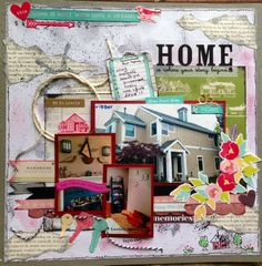 Layout: Home is where the story begins.