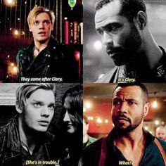 "#Shadowhunters 2x07|2x13 - ""Clary"" - #JaceWayland #LucianGraymark"