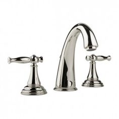Graff Lauren Widespread Lavatory Faucet In Polished Nickel