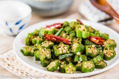 Four-ingredient okra stir-fry