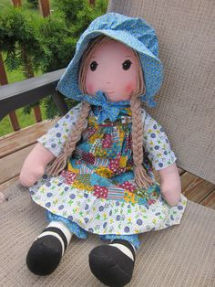 Vintage Knickerbocker Original Holly Hobbie Rag Doll - from etsy seller. I had and loved this when i was little
