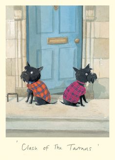 """Clash of the Tartans"" HA ! Anita Jeram"