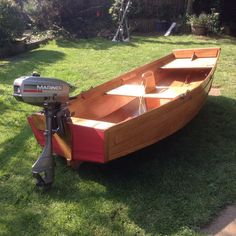 Seahopper Folding Boat 2.40m with carrybag plus a just serviced 3.3Hp Mariner outboard motor.