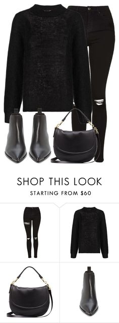 """Untitled #2815"" by elenaday ❤ liked on Polyvore featuring Topshop, Whistles, Mulberry and Acne Studios"