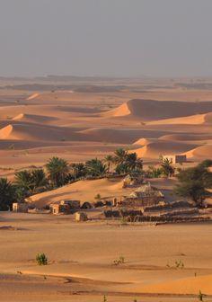 Oasis by Pepa Martín. Chinguetti, Mauritania, África.