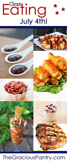 Clean Eating July 4th Recipes!