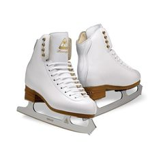 Womens Figure Skate | DJ2190/2191 Womens Freestyle Skate| Jackson Ice... (905 BRL) ❤ liked on Polyvore featuring skates and shoes