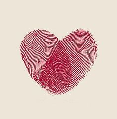 ink heart :) tattoo ideas, heart, thumb prints, fingers, wedding invitations, fingerprints, card, a tattoo, kid