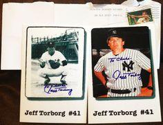 Jeff Torborg TTM