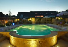 The swimming pool at luxury Feversham Arms in Helsmley #Yorkshire 5 Romantic break in the UK