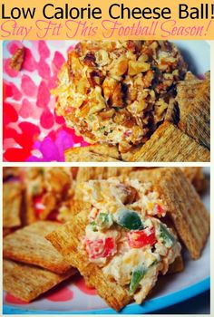 Low Calorie Cheese Ball - Stay Fit This Football Season!