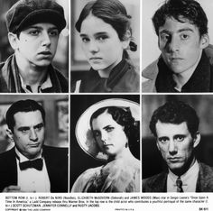 Once Upon a Time in America - Jennifer Connelly, Robert De Niro, James Woods, Elizabeth McGovern, Rusty Jacobs, Scott Schutzman Tiler
