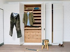 ELEVEN LUST-WORTHY CLOSETS & DRESSING ROOMS | An Outtake - Custom closet / cabinets by Plain English.