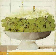 stilllifequickheart:  Barnet Rubenstein Green Grapes #3 1989