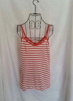 Buy my item on #vinted http://www.vinted.com/womens-clothing/tank-tops/11693855-ae-orange-striped-v-neck-tank-size-medium