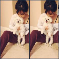 Tiffany with 'Prince'