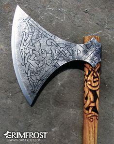 Grimfrost - Genja the Berserker's Axe, Linnormr Edition