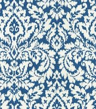 Decorate your home with this gorgeous Home Décor Bluejay Dashing Damask Fabric. This beautiful durable fabric is made from cotton, easy to work with and has a contemporary look. Coastal Fabric, Home Decor Fabric, Waverly Fabric, Boutique Interior Design, Blue Jay, Joanns Fabric And Crafts, Fabric Online, Floral Fabric, Beautiful Patterns