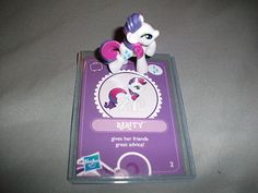 G4 Wave 3 My Little Pony Friendship Is Magic Rarity Blind Bag with Card 2   eBay