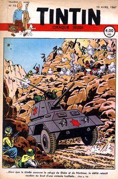 Journal de TINTIN édition Belge N° 15 du 10 Avril 1947 Le secret de l'Espadon