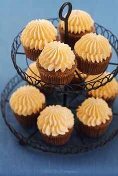 6 Bittersweets' BEST Carrot Cake / Cupcakes with Cream Cheese Frosting (with unusual method of preparing the carrots)