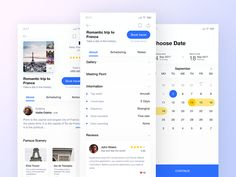 Travel booking app by Yushun