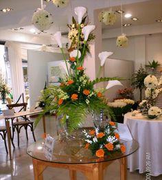 1000 images about adornos florales para bodas on for Adornos d mesa para boda