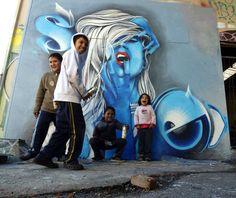 Street Art By Serain - Toulouse (France)