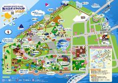 舞洲スポーツアイランドmap