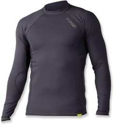 Great by itself in hot weather or as a base layer in your cold weather layering system, the NRS H2Core Rashguard breathes freely, wicks moisture and protects skin from abrasion when you're paddling.