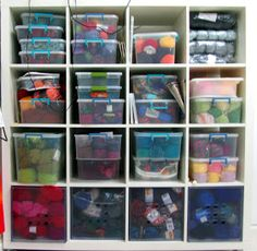 Get Organized 21 Tips for Yarn Stash Storage | Pinterest | Yarn stash Knitting supplies and Yarns  sc 1 st  Pinterest : yarn storage containers  - Aquiesqueretaro.Com