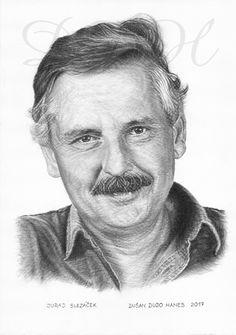 Juraj Slezáček, portrét Dušan Dudo Hanes
