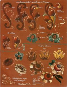 Rosemaling Trends, Traditions and Beyond - Angelines sanchez esteban - Álbumes web de Picasa