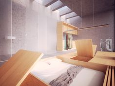 Room 2 - Conceptual render by dms infoarquitectura