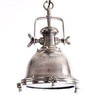 Hanglamp Toscane 35cm  ruw nickel