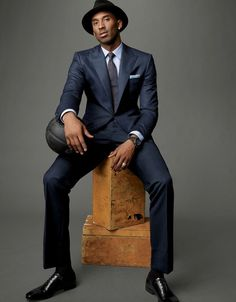 While capturing his fourth NBA title this year, Kobe Bryant confidently reasserted his claim to being the best player on the planet. And as he pulls on an elite selection of peak-lapel suits, it's fair to say he's never looked better Kobe Bryant Family, Lakers Kobe Bryant, Bryant Basketball, Kobe Bryant Shoes, Nba Fashion, Mens Fashion, Dodgers, Kobe Bryant Pictures, Kobe Bryant Black Mamba
