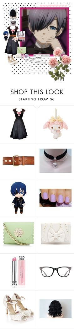 """""""Erris Roseguard loves Ciel Phantomhive"""" by sasukeuchiha2498 ❤ liked on Polyvore featuring beauty, Ciel, Linea Pelle, Mulberry, Christian Dior, Ray-Ban and Monsoon"""