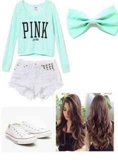 Cute outfit! I would wear pants instead though. The shorts are too short for